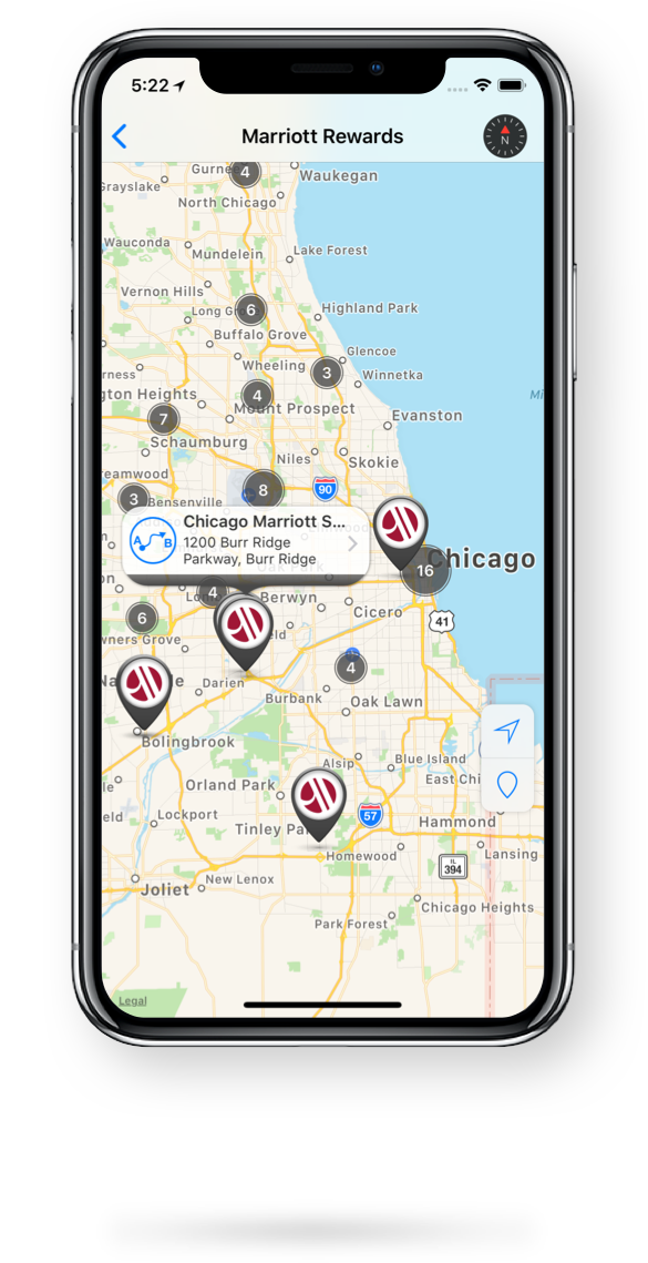 Easily Find and Get DirectionsTo Outlet Locations